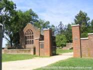 Jamestown National Historic Site Church - approx 350 year old - Virginia Vacation Beach Attraction