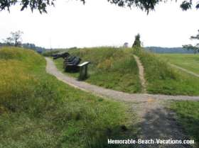 Yorktown Battlefield 2nd Siege Line - Peaceful scenic countryside now!