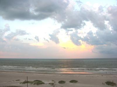Cocoa Beach Sunrise from balcony